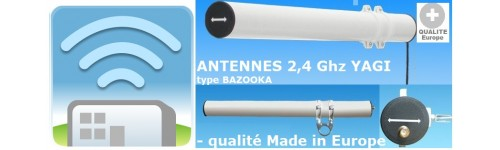 Antenne YAGI 2,4GHZ Directionnelle