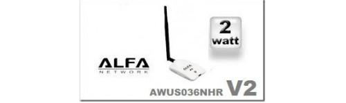 Alfa AWUS036NHR 2000mw V2 nouveauté