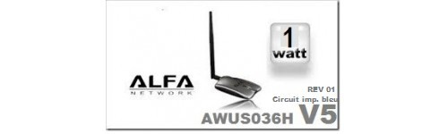Alfa AWUS036H      1000mw