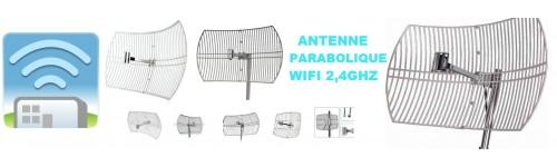 Antenne Wifi Parabolique / Grille 2,4GHZ