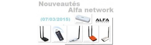 Clés WIFI USB ALFA