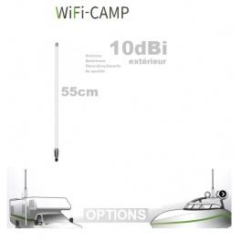Supplement* 55cm  (au lieu de 45cm 9dbi)  pour Alfa KIT WiFi CAMPING CAMPPRO