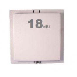 Antenne Wifi Panneau / Panel 17-18 dBi 2.4 GHz + Câble 3m