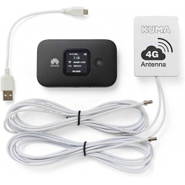 Pack Internet sans Fil 4G KUMA KU80 pour  Camping-Car Bateau Camion Poids Lourd