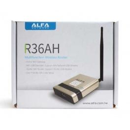 Alfa awus036nh + routeur répéteur alfa R36AH + chargeur 12v