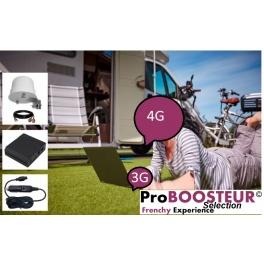 kit ProBOOSTEUR©  4G extérieur ROUTEUR Europe ECO 4g +  inclus antenne et câbles