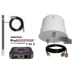 kit ProBOOSTEUR©  4G extérieur ROUTEUR mobile 4g++ cat.16 v3 EU 1200mbps 700mhz inclus antenne 61CM et câble 5m maximum