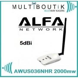 Alfa AWUS036NHR V2 2000mw 1er PRIX