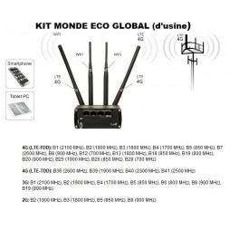 kit ProBOOSTEUR©  4G extérieur ROUTEUR global eco 4g+  inclus antenne et câbles
