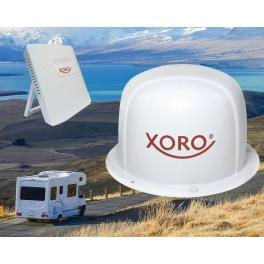 antenne Xoro MLT 400 4G ou ANTARION 4G BOOST AT400 - Système d'antenne routeur WiFi intégré – Spécialement conçu pour Camping Ca