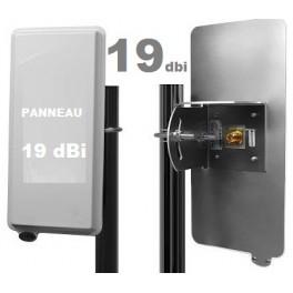 Antenne Wifi Panneau / Panel 19 dBi 2.4 GHz + Câble 3m