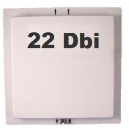 Antenne Wifi Panneau / Panel 22 dBi 2.4 GHz + Câble 3m