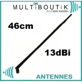 Antenne Wifi Omnidirectionnelle 13dBi 43/46cm RP-Sma