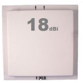 Antenne Wifi Panneau / Panel 17-18 dBi 2.4 GHz + Câble 5m
