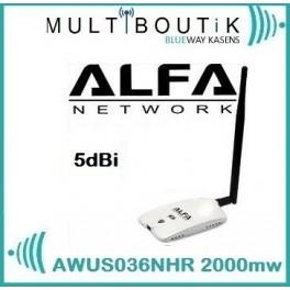 Alfa AWUS036NHR V2 2000mw PACK Standart