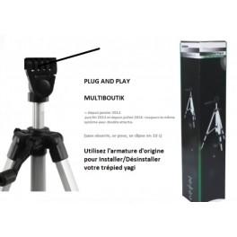 Trepied ALU Pro Pour Yagi TUBE Bazooka 17, 20 ou 21dBi