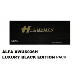 ALFA AWUS036H Luxury* BLACK 9dBi