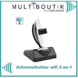 Antenne Parabole usb wifi 2-en-1 Kasens 15dBi max*