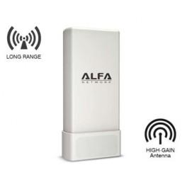Alfa Network UBDo-UV CPE d'extérieur sans fil à forte puissance 2,4 GHz.
