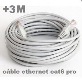+ 3 M Câble ethernet extérieur (5 mètres) Cat. 6 FTP