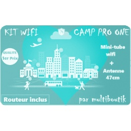 KIT Nautisme CAMP PRO One Camping-car