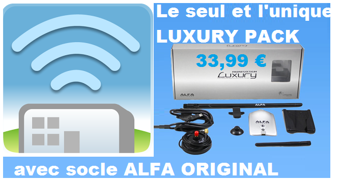 ALFA NETWORK AWUS036H LUXURY PACK avec Socle
