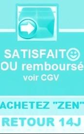 RETRACTATION SOUS 14J  ET notre SAV exclusif (échange dès communication de votre numéro de retour)- voir CGV