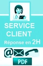 AIDE en français par liens PDF - Réponses en 2h ouvrées lun à dim