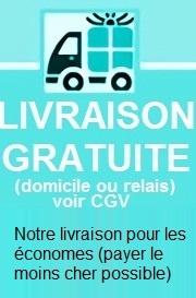 LIVRAISON GRATUITE (France Métropolitaine, Corse)