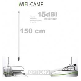 Supplement* 150cm 15dbi (au lieu de 45cm 9dbi)  pour Alfa KIT WiFi CAMPING CAMPPRO