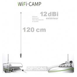 Supplement* 120cm 12dbi (au lieu de 45cm 9dbi)  pour Alfa KIT WiFi CAMPING CAMPPRO