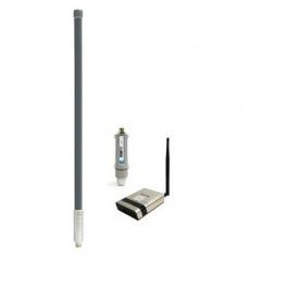 ALFA Network kit 4G ROUTEUR v2 EU + Tube-UG -  4G/LTE USB pour extérieur antenne 61CM