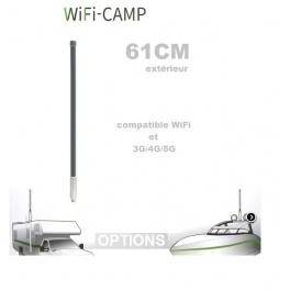 Supplement* 61cm compatible 4G  (au lieu de 45cm 9dbi)  pour Alfa KIT WiFi CAMPING CAMPPRO