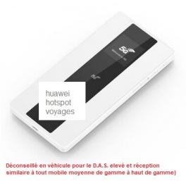 KIT DE Voyage (hors véhicules) Huawei hotspot  Routeur WIFI portable 3G 4G 5G