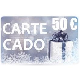 Carte CADEAU 50 euros Multiboutik