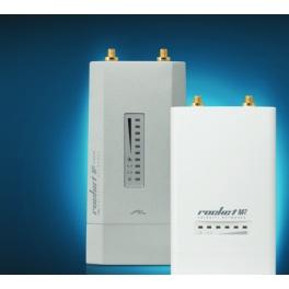 Kit point d'accès / hotspot ubiquiti WiFi 2,4 ghz Omnidirectionnel Longue portée mimo 2*10 (20dbi*) Amplifié