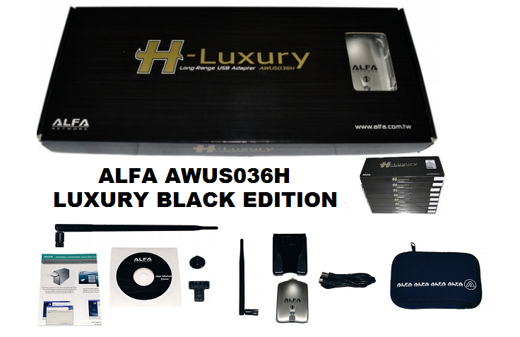 ALFA AWUS036h LUXURY BLACK